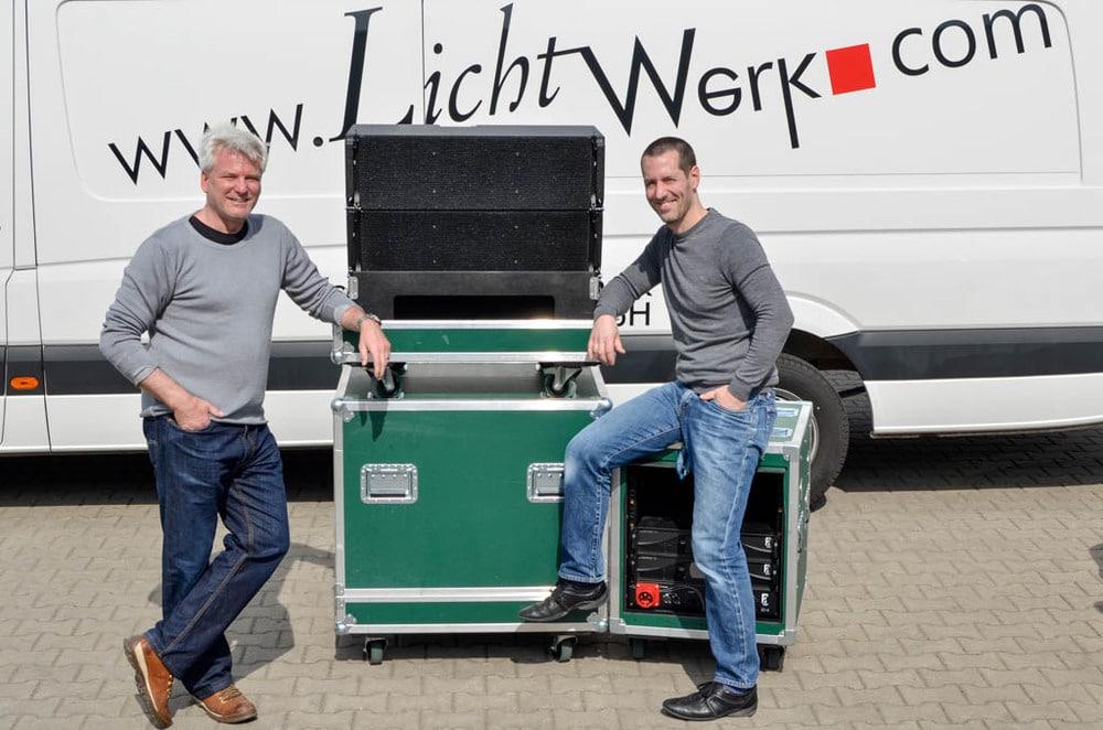 Götz Berge und Simon Schmitt