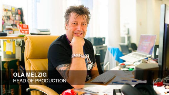 Ola Melzig, PRG