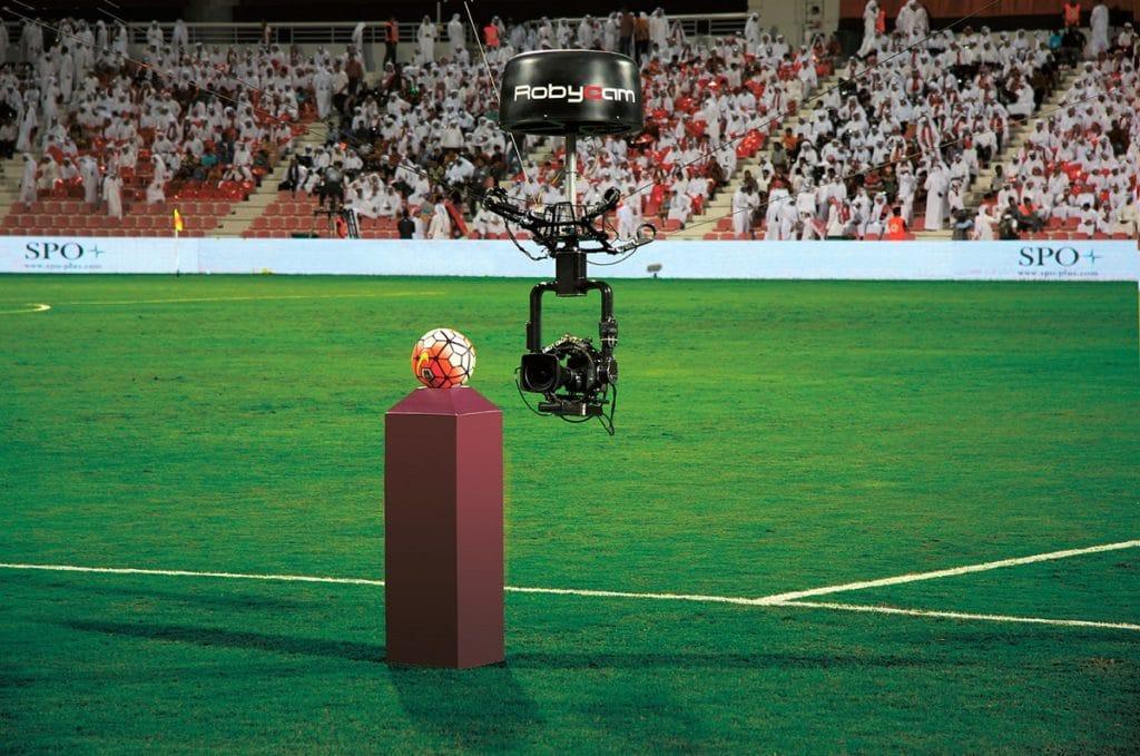 Robycam verfügbar mit 4K Kamera