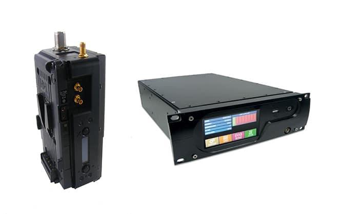 COFDM Sende- und Empfangstechnik des Herstellers DTC Domo Broadcast