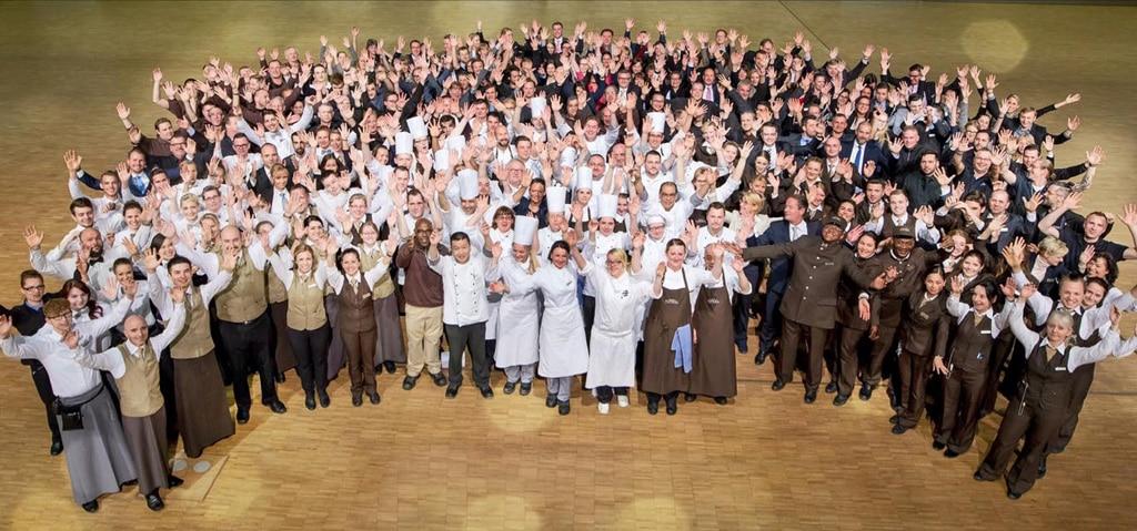 Das Team des Estrel Berlin