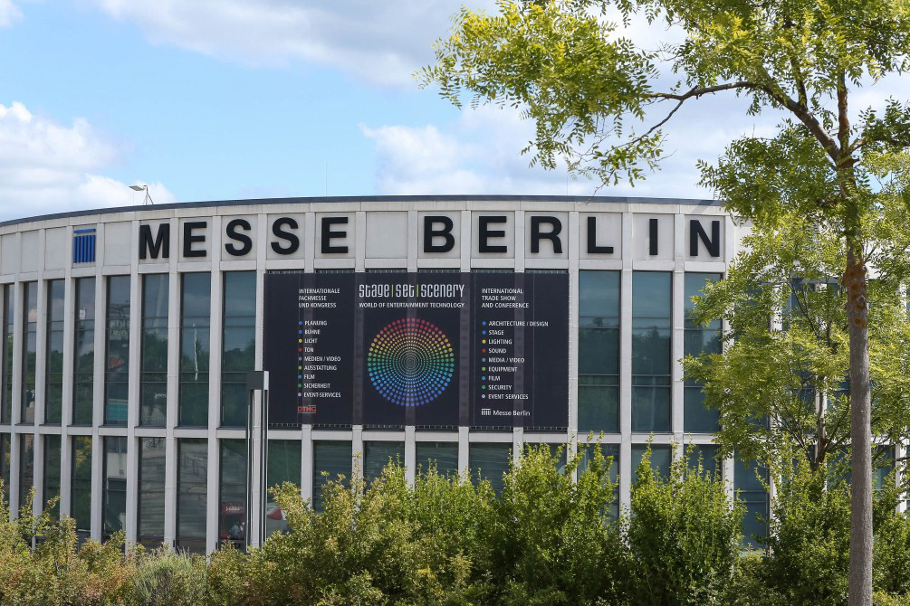 Stage   Set   Scenery in der Messe Berlin