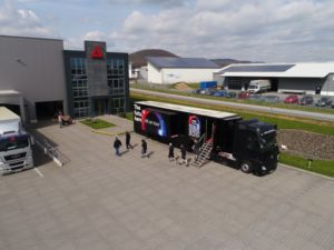 Barco UDX 4K Truck bei AED RENT in Bannberscheid