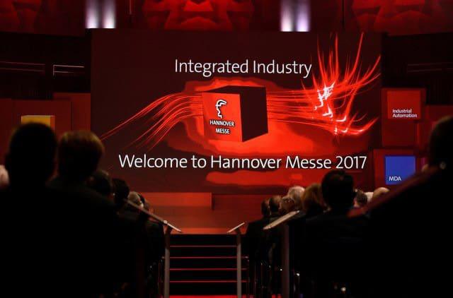 Eröffnungsfeier der Hannover Messe