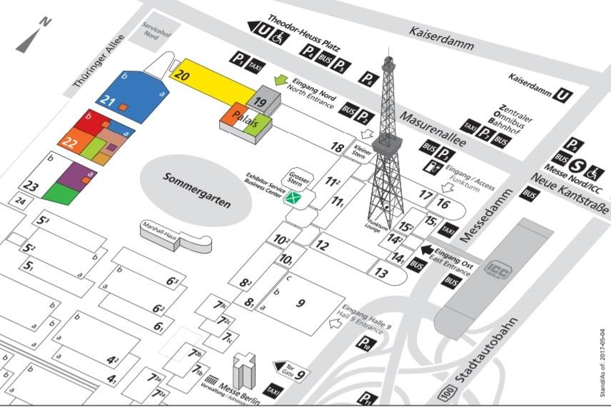 Stage|Set|Scenery Hallenplan