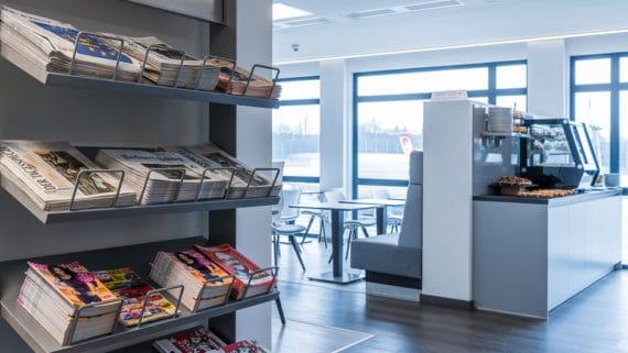 Weltbürger-Lounge auf dem Flughafen Berlin-Tegel