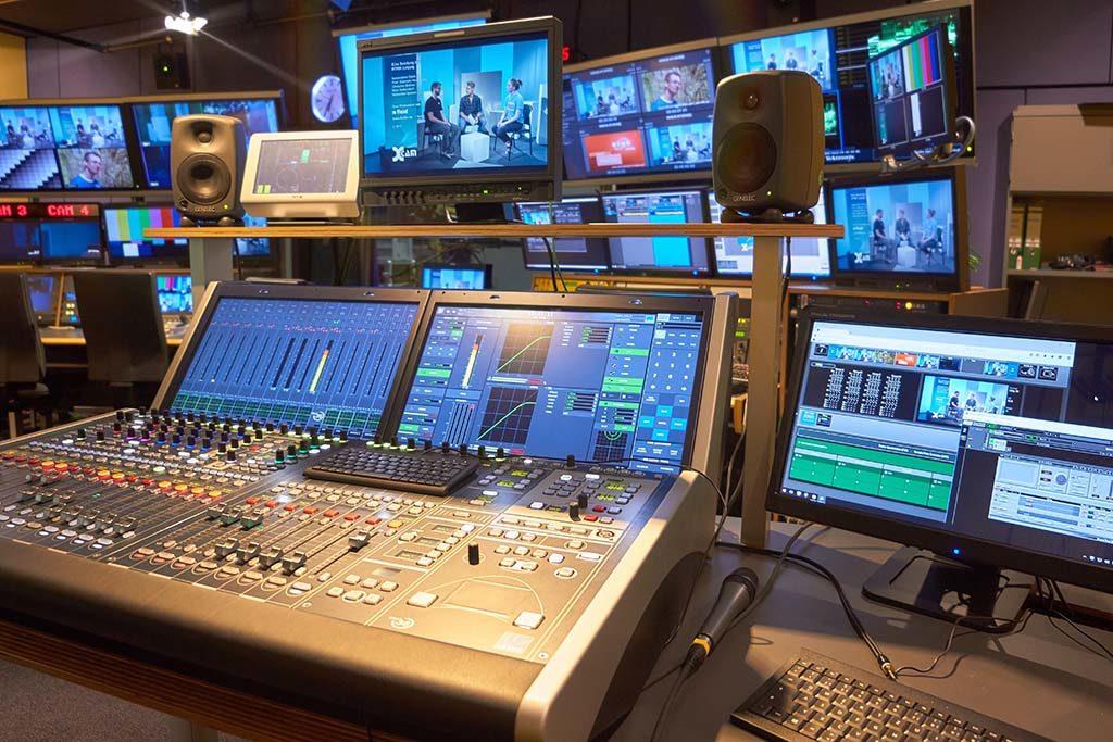 AV Studio Regie an der HTWK Leipzig