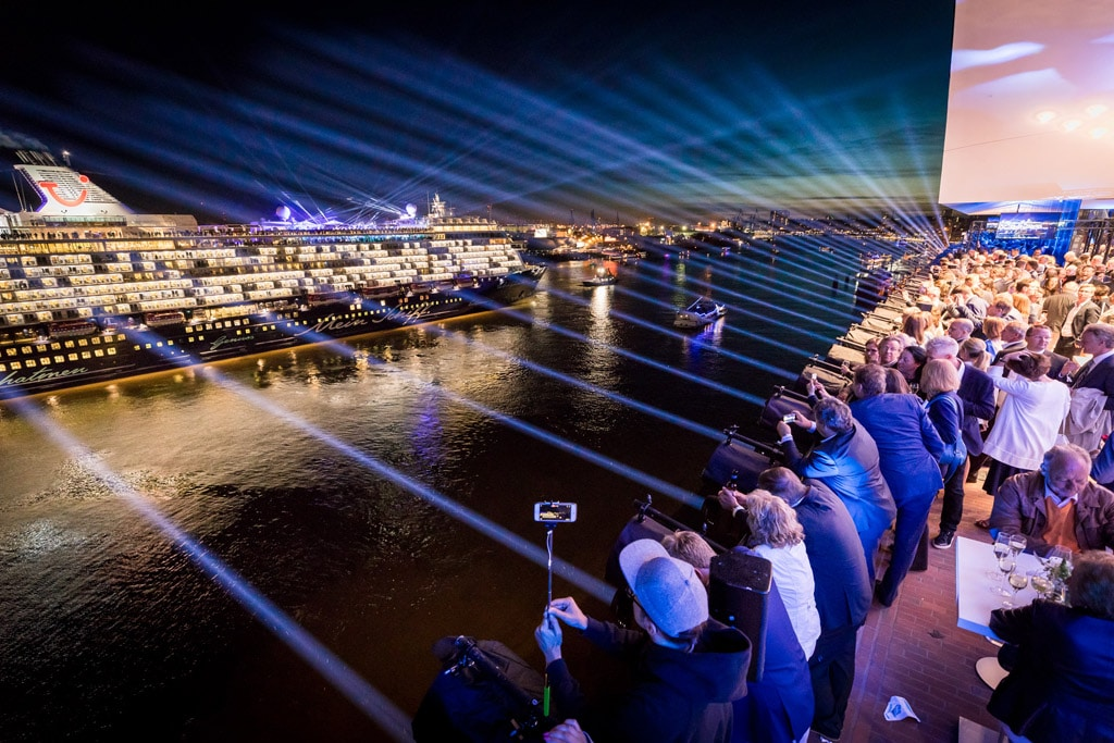 """""""Mein Schiff 6"""" Taufe - Elbphilharmonie Hamburg"""