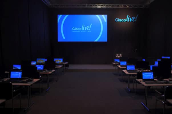Gahrens + Battermann liefert Equipment für Cisco Live