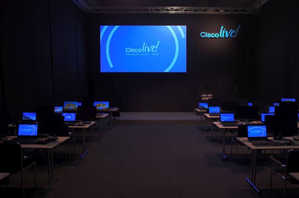 Gahrens + Battermann liefert Equipment für Cisco Live