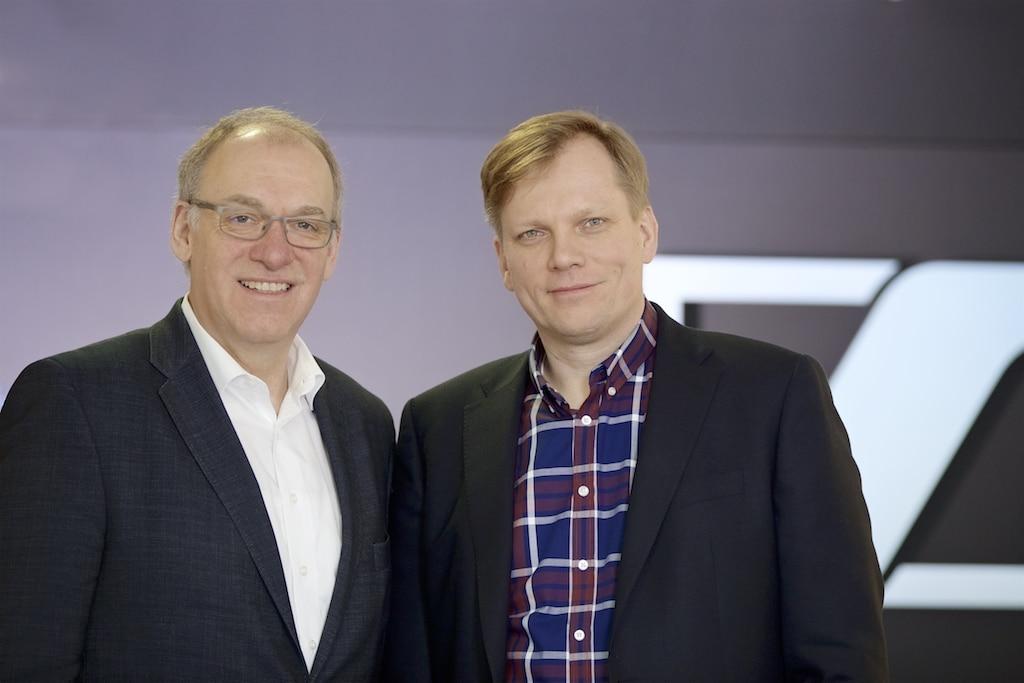 Gerhard Tammen und Guido Karbautzki