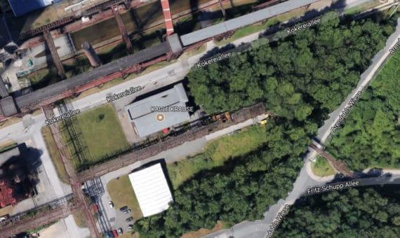 Gelände von Kalle Krause auf der Zeche Zollverein in Essen