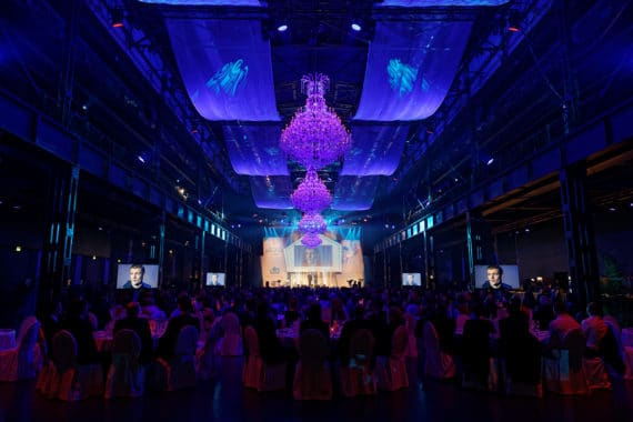 Toni Kroos Stiftungsgala 2017 mit Light Event