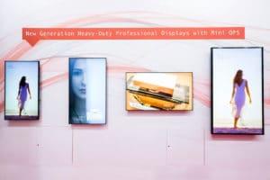 Die neue Displayserie von Sharp: PN-Q