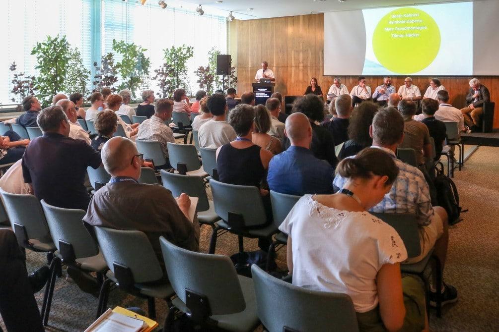 Eröffnung des Symposiums Weltkulturerbe Theater in Deutschland: Zukunft als Museum oder Theater 4.0?, Palais am Funkturm