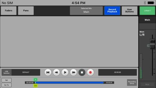 iPhone-App für TouchMix