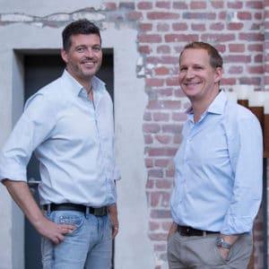 Björn Christoffer, Key Account Director der Lieblingsagentur (l.), und Andreas Bauer, Geschäftsführer von Visionary Minds und der Lieblingsagentur.