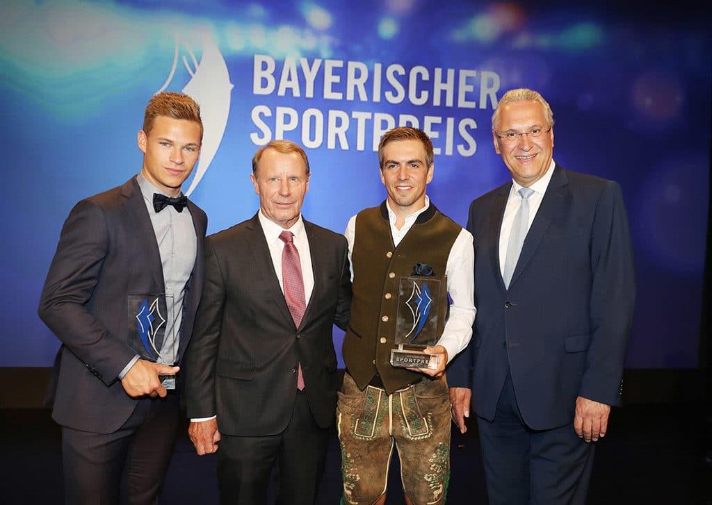 Bayerischer Sportpreis 2017 in der BMW Welt