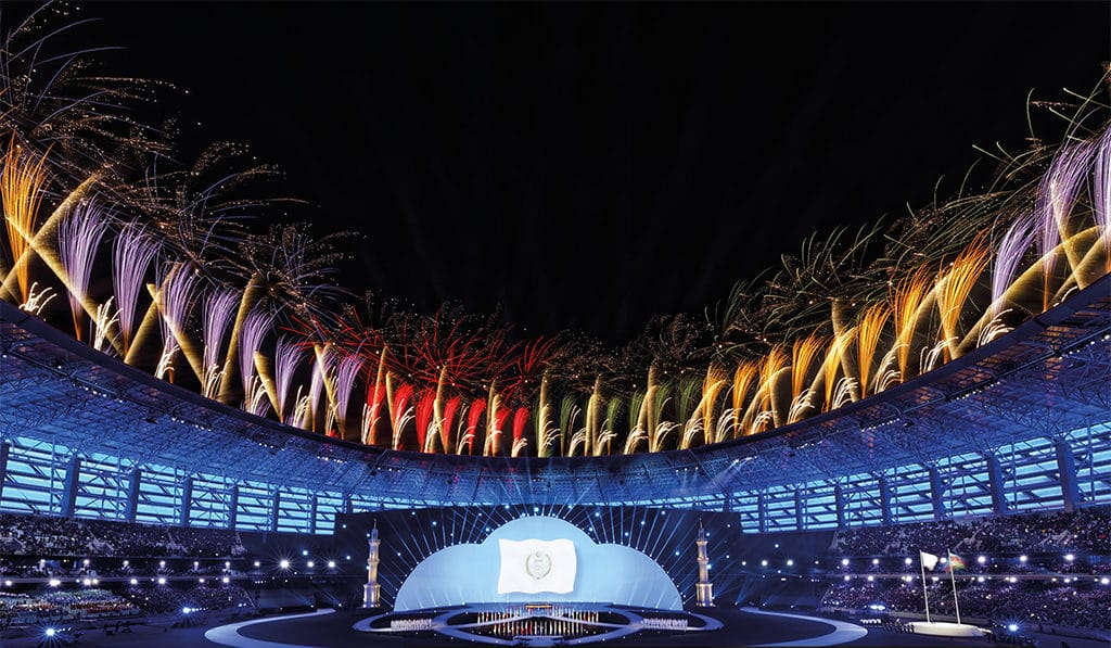 "Opening der ""4th Islamic Solidarity Games Baku 2017"""