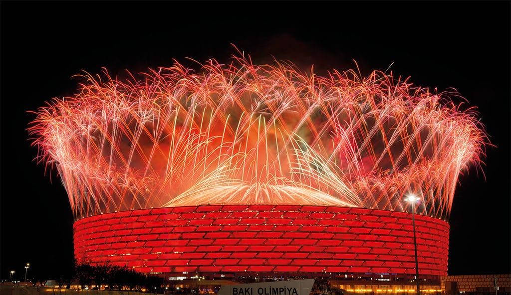 "Opening der ""4th Islamic Solidarity Games Baku 2017"""