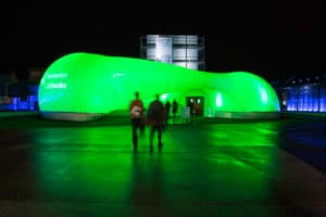 """Raumwelten-Pavillon """"Lichtwolke"""""""