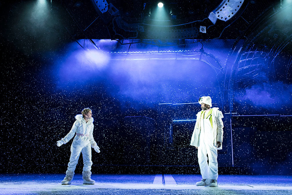 Die Impression X4 Bars im Einsatz bei Angels in America im National Theatre an der South Bank