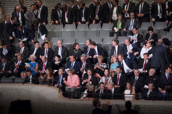 G1 unterstützte G20 Event in der Elbphilharmonie