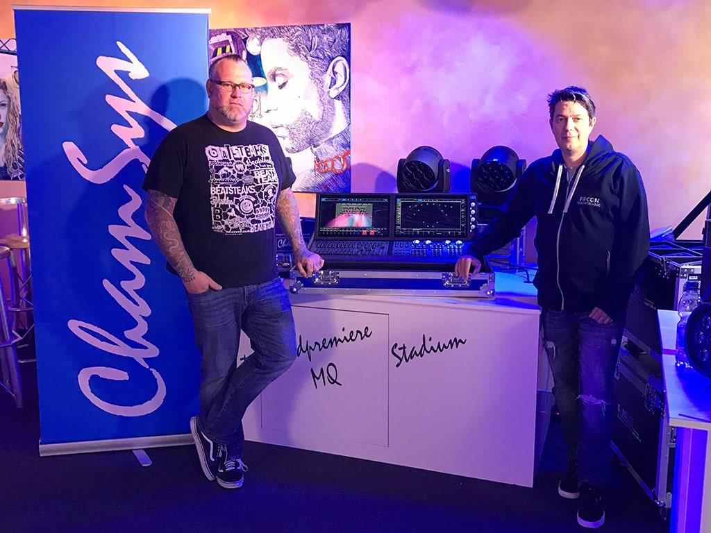 Gunnar Loose mit der Chamsys MQ 500