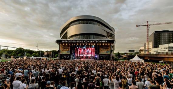 Mercedes-Benz Konzertsommer 2017