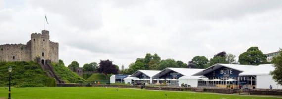 Röder-Zelte beim Champions League Finale 2017