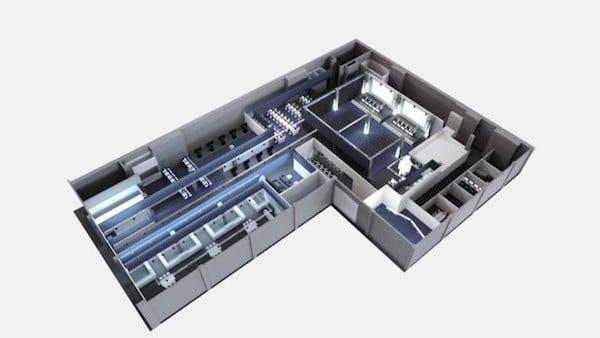 AV Stumpfl CIS stellt für Digisky großflächige AV Stumpfl Fullwhite Leinwände und Epson Laserprojektoren bereit.