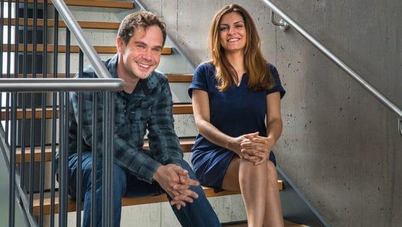 Dr. Galia Diez und Chris Fleck
