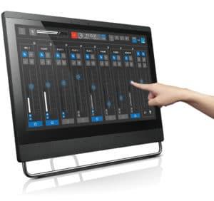 VRX8 Mixer mit Touchscreen von Lawo