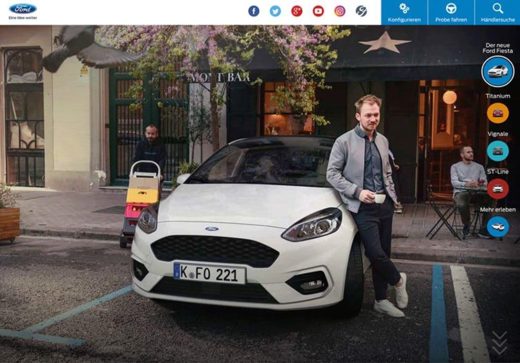 Ford Fiesta Kampagne