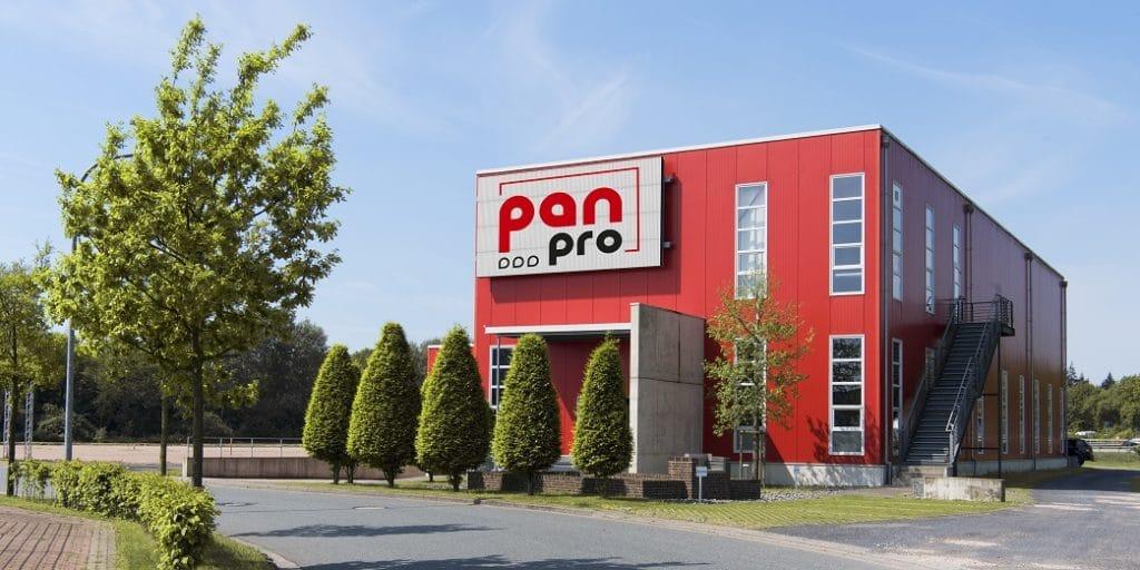 Das Firmengebäude von pan