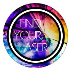 """Logo von """"Find your Laser"""""""