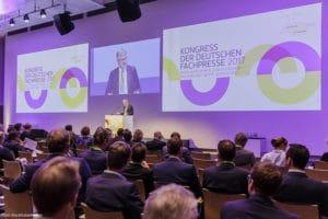 Kongress der Deutschen Fachpresse 2017 am 17.05.2017 in Frankfurt/Main