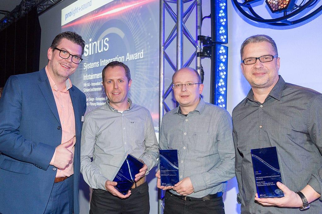 Verleihung Sinus – Systems Integrations Award 2017