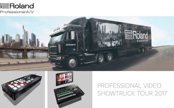 Roland Professional Video-Truck