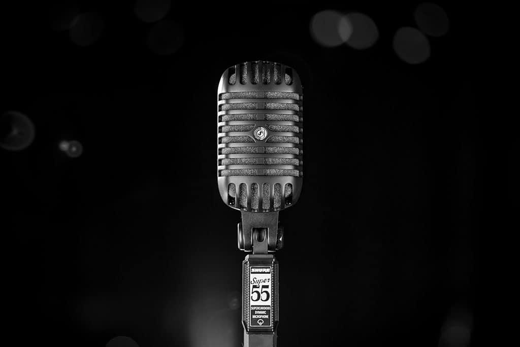 Pitch Black Edition Super 55-BLK Deluxe Gesangsmikrofon von Shure