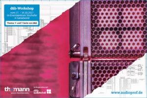 Thomann-Workshop zur d&b T- und Y-Serie