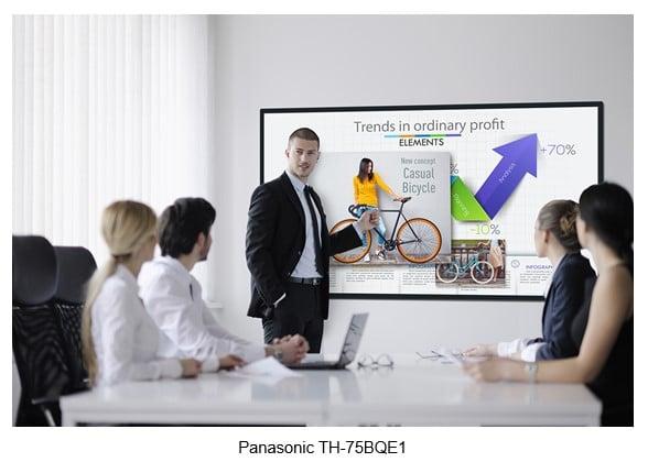 Panasonic präsentiert neue Reihe interaktiver Whiteboard Displays