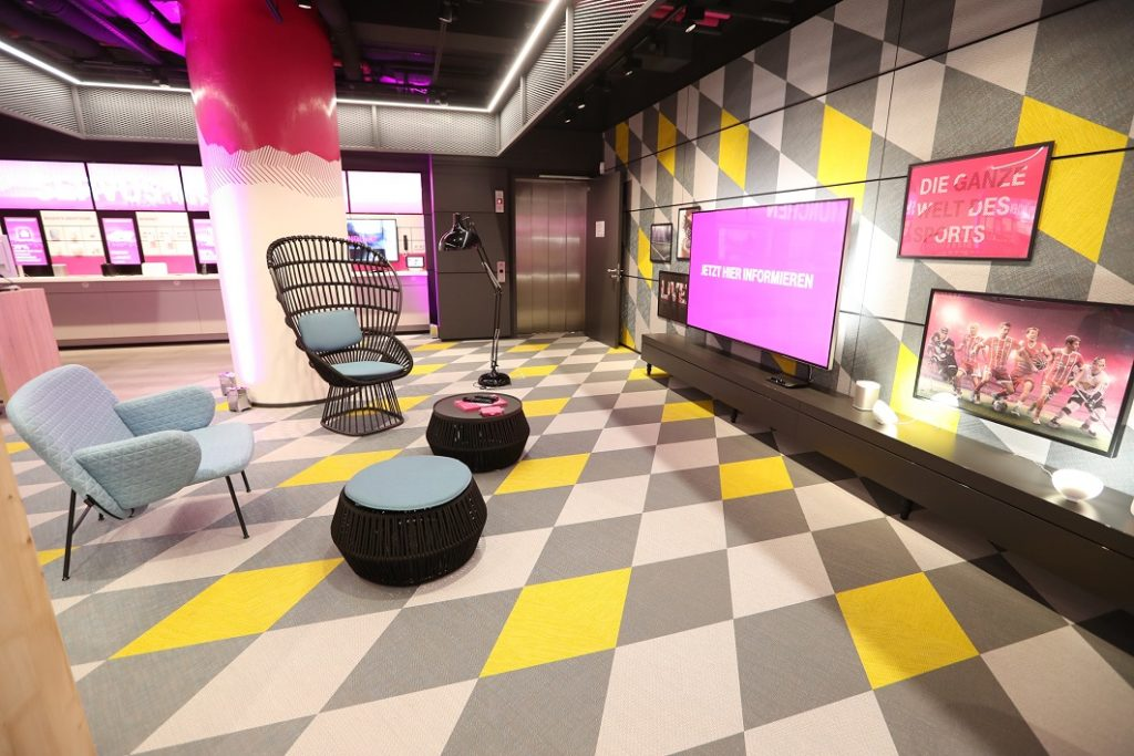 MagentaZuhause Lounge