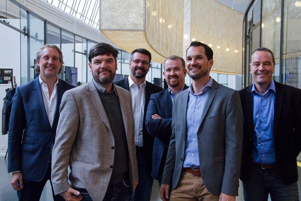 Die neue Geschäftsleitung der Habegger Group
