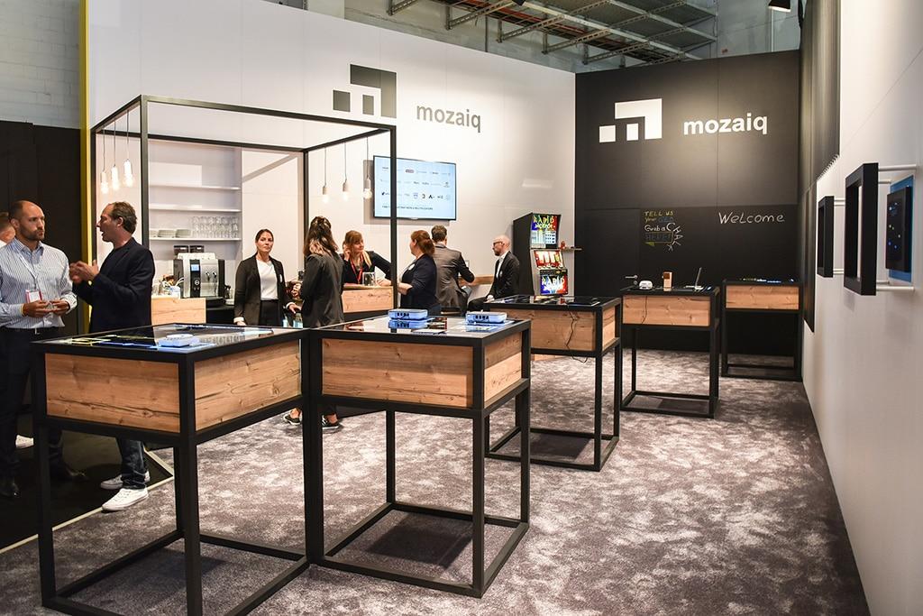 Für Mozaiq übernahm Artlife die Konzeption und Umsetzung des Messeauftritts auf der diesjährigen IFA.