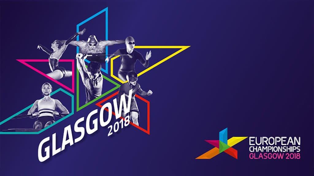 Logo der Glasgow/Berlin 2018 European Championships