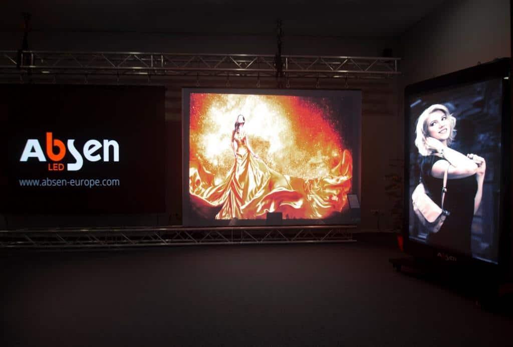 Absen Europe Showroom_LED Displays
