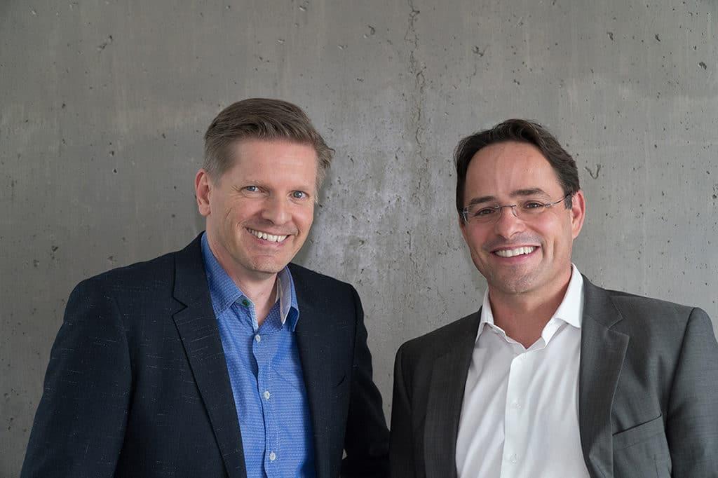 Nico Ubenauf und Simon Habegger gründen Live Matters.