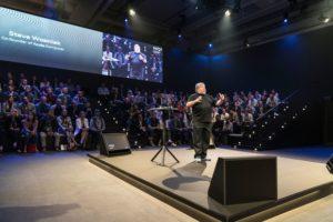 Redner beim ersten Audi Mobility Quotient-Summits 2017