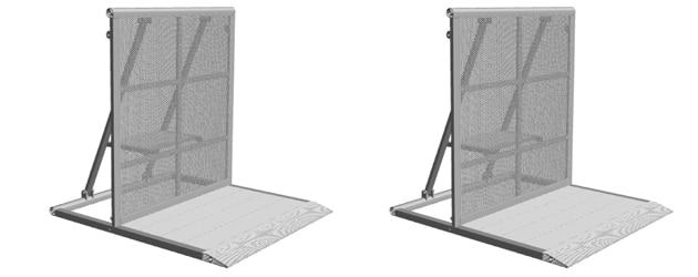 Standardmodul Aluminium Wellenbrecher von Litec